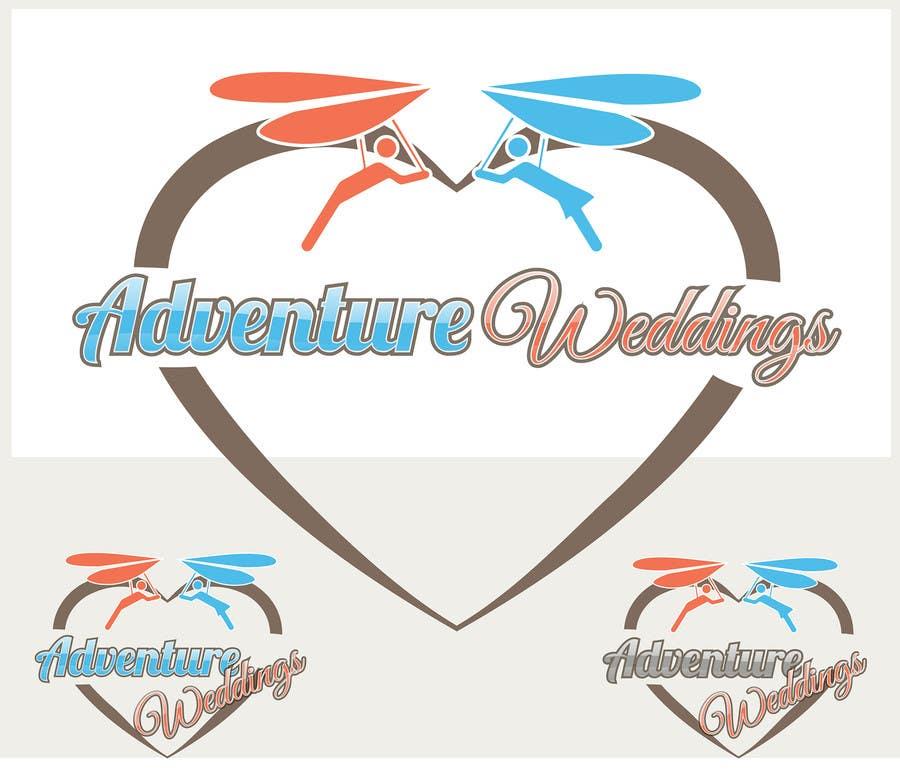 Penyertaan Peraduan #16 untuk Design a Logo for Adventure Weddings