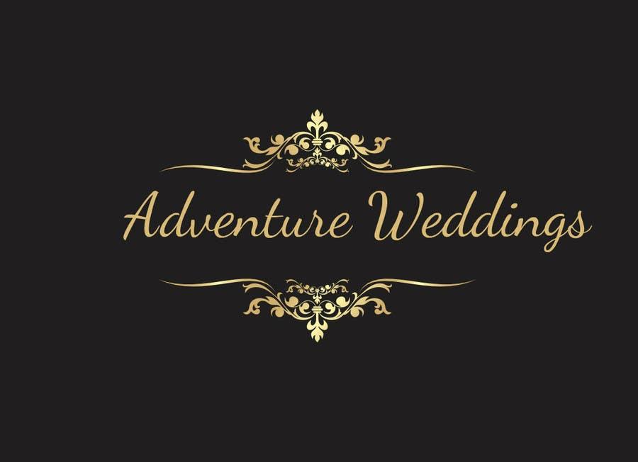Penyertaan Peraduan #38 untuk Design a Logo for Adventure Weddings