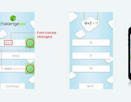 nº 42 pour Design an App Mockup for Mobile Puzzle Game par DigiMonkey