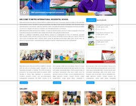 #9 untuk Design a Website Mockup for Pre-school center website oleh sriram143341