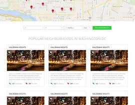 #5 untuk Mock up pages for a real estate site utilizing the ken WordPress theme oleh sriram143341