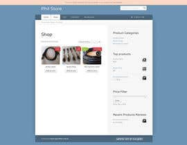 nº 2 pour Build an Online Store for Phil par panafff