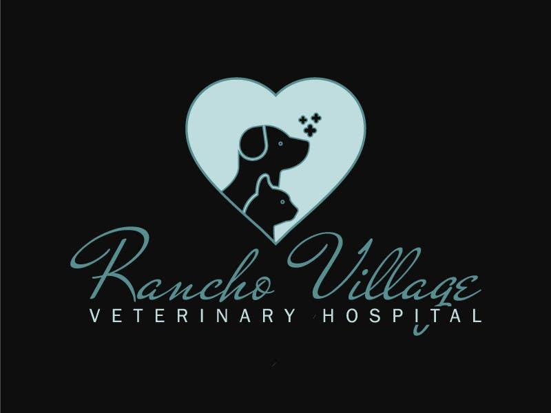 Konkurrenceindlæg #113 for Design a Logo for Rancho Village Veterinary Hospital