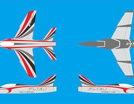 #7 untuk I need some Graphic Design for model aircraft color scheme oleh purnawarman08