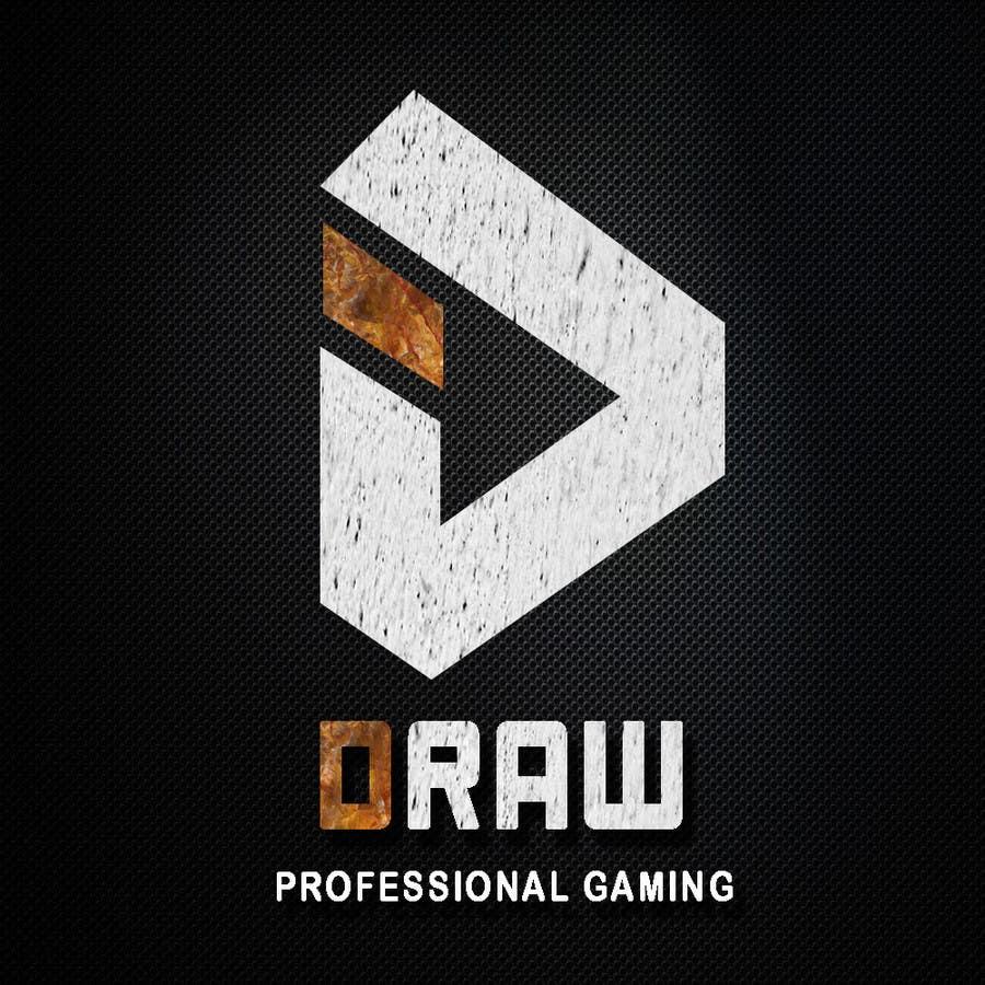 Kilpailutyö #13 kilpailussa Design a Logo for League of Legend team 'DRAW'