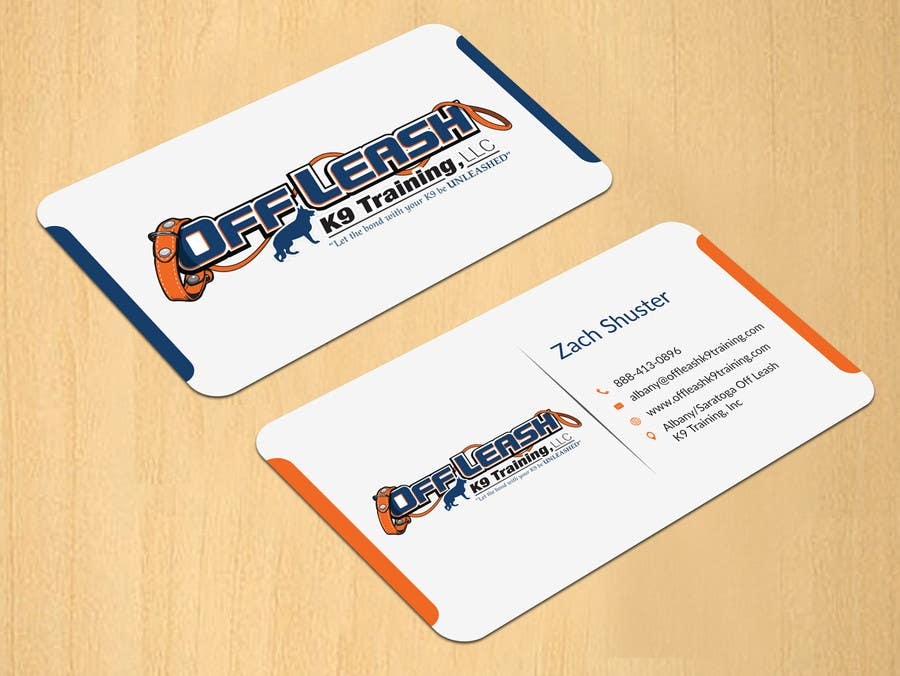 Entry 13 by dinesh0805 for dog trainer business card freelancer dog trainer business card colourmoves