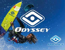#70 untuk Design a Logo for kiteboarding brand called Odyssey Kiteboarding oleh HimawanMaxDesign