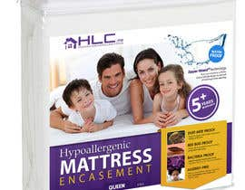 #37 for Create Packaging Designs for Mattress Protectors by darkemo6876