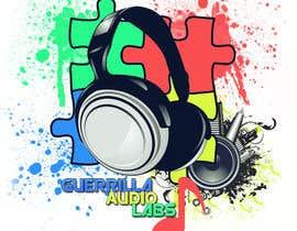 Nro 11 kilpailuun Design a Logo for Guerrilla Audio Labs käyttäjältä rockingdude543