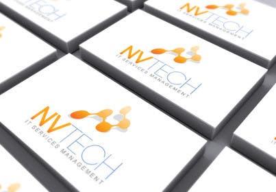 #53 untuk Design a Logo for NVTech oleh deztinyawaits