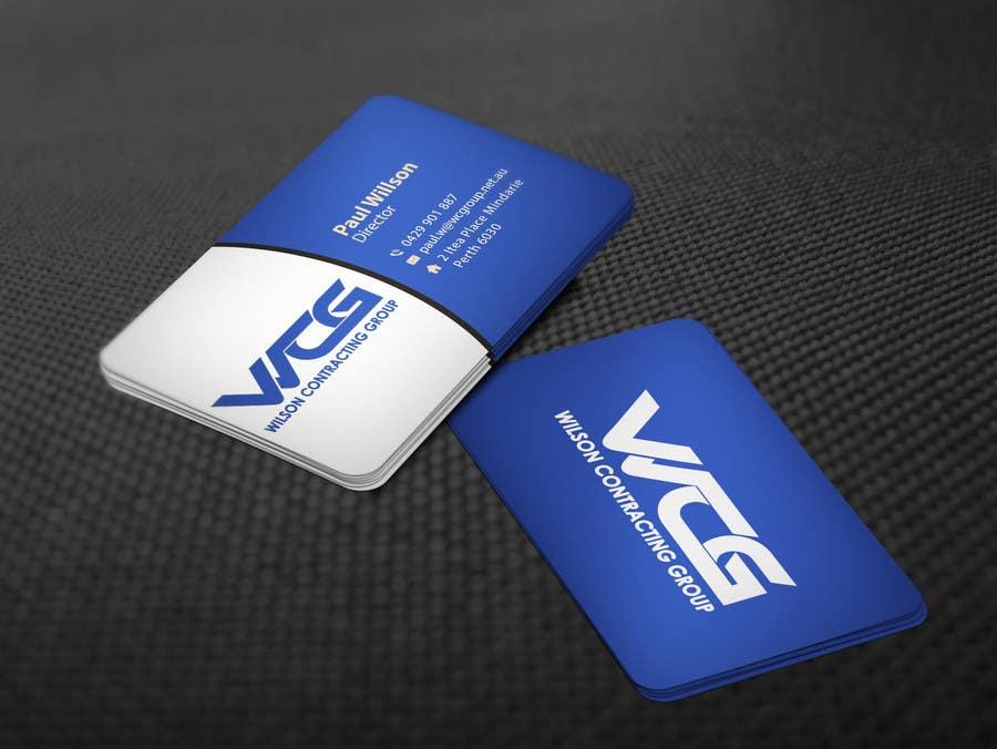 Kilpailutyö #84 kilpailussa Design some Business Cards for WCG