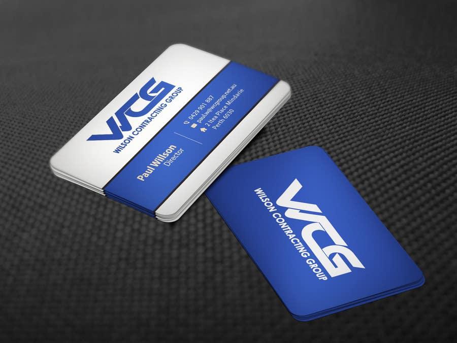 Kilpailutyö #87 kilpailussa Design some Business Cards for WCG