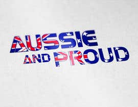 "#56 untuk Design a Logo for ""Aussie and Proud"" oleh GraphicHimani"