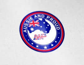 "#58 untuk Design a Logo for ""Aussie and Proud"" oleh GraphicHimani"