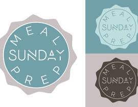 Nro 24 kilpailuun Design a Logo for 'Meal Prep Sunday' käyttäjältä vladspataroiu