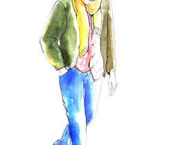 #6 cho need a sketch of a cool guy, dressed casual bởi leenakrapiva