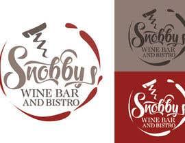 Nro 22 kilpailuun Design a Logo for Snobby's Wine Bar and Bistro käyttäjältä vladspataroiu