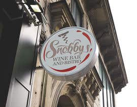 Nro 25 kilpailuun Design a Logo for Snobby's Wine Bar and Bistro käyttäjältä vladspataroiu