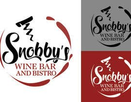 #94 untuk Design a Logo for Snobby's Wine Bar and Bistro oleh vladspataroiu