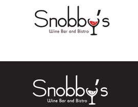 #100 untuk Design a Logo for Snobby's Wine Bar and Bistro oleh muhhusniaziz