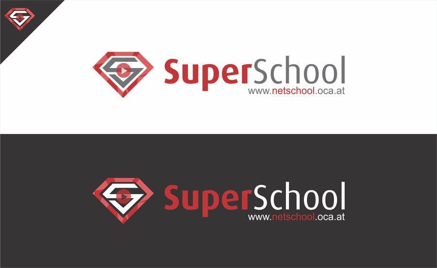 Kilpailutyö #100 kilpailussa Design a Logo for superschool