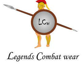 #3 for Design a warrior logo for Legends Combat Wear af CGproductions