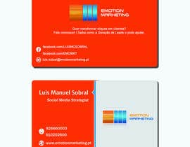 #33 cho Design a vertical (two sides)Business Card + horizontal Business Card (two sides) for Emotion Marketing bởi sanratul001