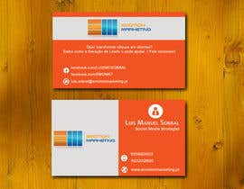 #42 untuk Design a vertical (two sides)Business Card + horizontal Business Card (two sides) for Emotion Marketing oleh sanratul001