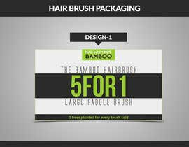 #7 for Create Print and Packaging Designs for my hairbrush company by AaRTMART