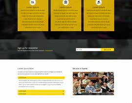 #10 untuk Design a Website Mockup for http://www.marinolaw.org oleh graphicrainbd