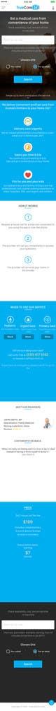Ảnh thumbnail bài tham dự cuộc thi #62 cho Design an App Mockup (The landing page only)