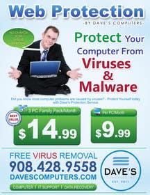 #63 for Design a Flyer for Virus Protection Service af gmorya