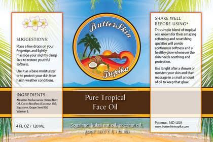 eliascurtis tarafından Design a Logo for ButterSkinTropika için no 4