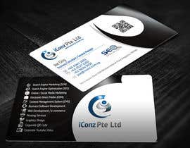 #32 para Design some Business Cards for iConz Pte Ltd por creationz2011