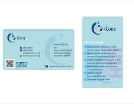 #29 para Design some Business Cards for iConz Pte Ltd por saliyachaminda