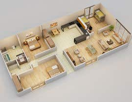 #3 untuk Do some 3D Modelling for Home Layout (remodel) oleh Fgny85