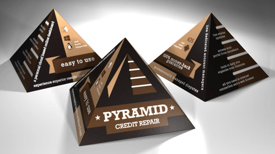 entry 2 by peshan for create print and packaging design for pyramid