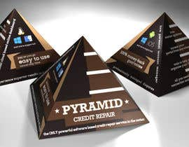 #4 for Create Print and Packaging Design for Pyramid Shaped Box - [Software Packaging] by peshan