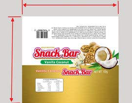 #29 cho Create Print and Packaging Designs for Snack Bar bởi lukar