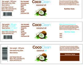 "#10 untuk Create packaging for ""Coconut Oil Pulling"" oleh thoughtcafe"