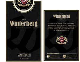 #32 untuk Create a label design for white, rose and red wine oleh gogugoguta