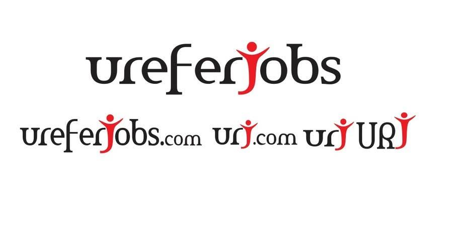 #83 for Logo design for ureferjobs.com. Help me. FLY CLOSER TO THE SUN. by sandanimendis