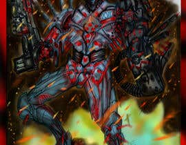 #30 for Design 1 Sci-Fi Character Art by jorgeclare