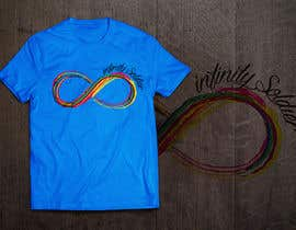 #26 untuk Design a T-Shirt for Colorful Infinity Sign oleh HomelessChicken