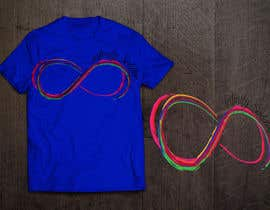 #34 untuk Design a T-Shirt for Colorful Infinity Sign oleh HomelessChicken