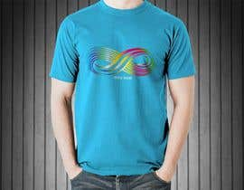 #42 untuk Design a T-Shirt for Colorful Infinity Sign oleh flynnrider