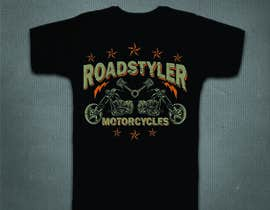 #31 cho Design T-shirt for motorcycle company bởi mj956