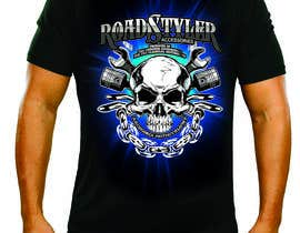 #32 for Design T-shirt for motorcycle company af tengkushahril