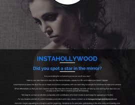 Nro 10 kilpailuun Design a 1 page website with movie theme in Wordpress käyttäjältä aryamaity