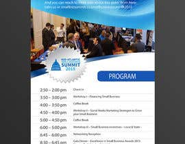 #16 cho Design a Flyer for Business Summit Event bởi goldeneaglesteam